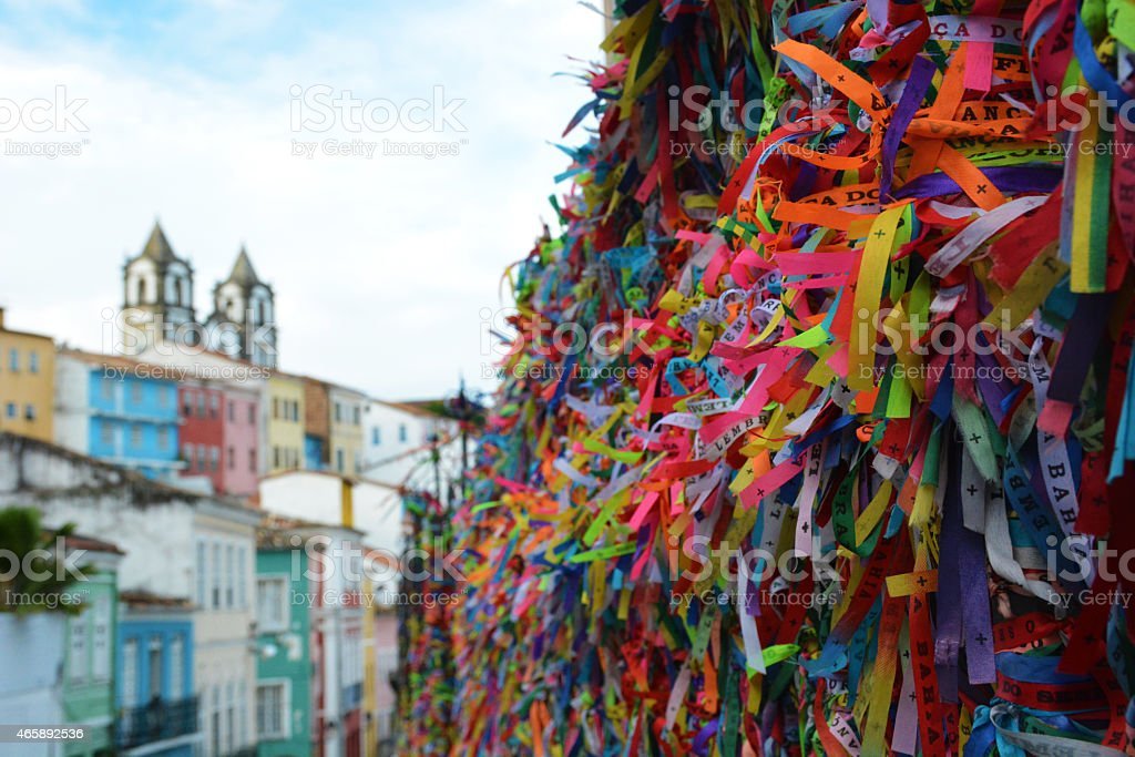Pelourinho stock photo