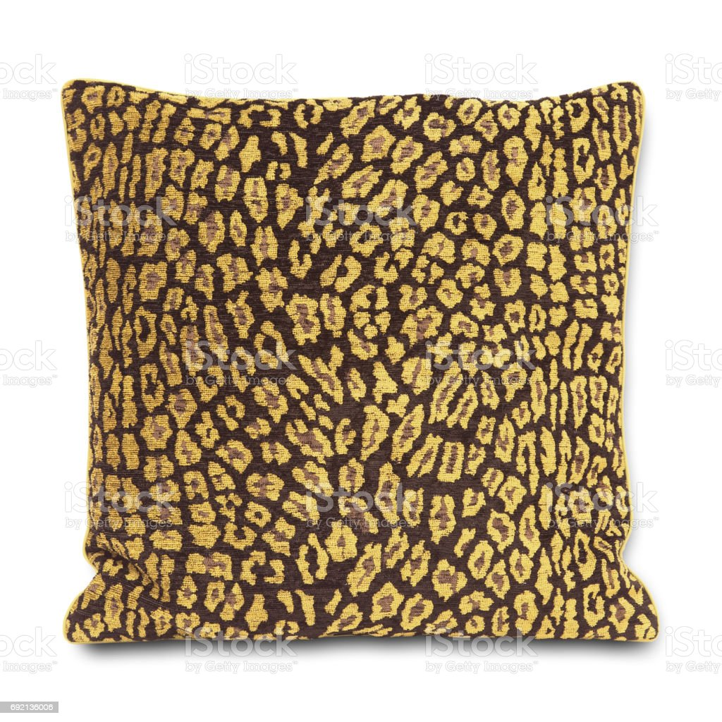 Pillow (Clipping Path) stock photo