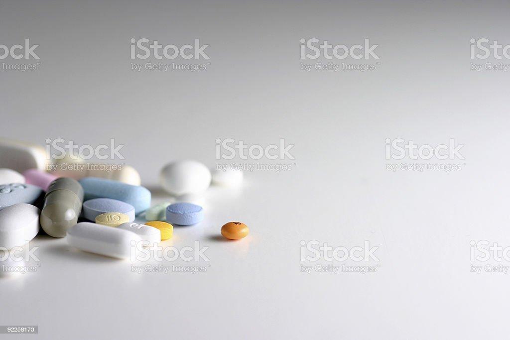 Pills 15 stock photo