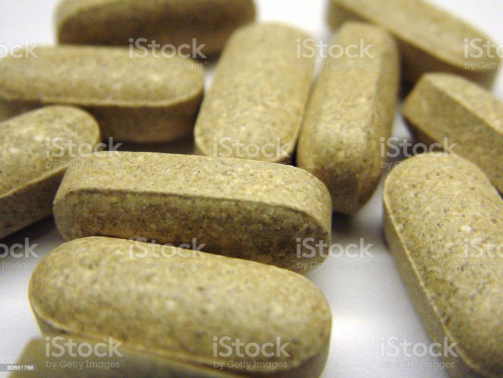 Pills 3 stock photo