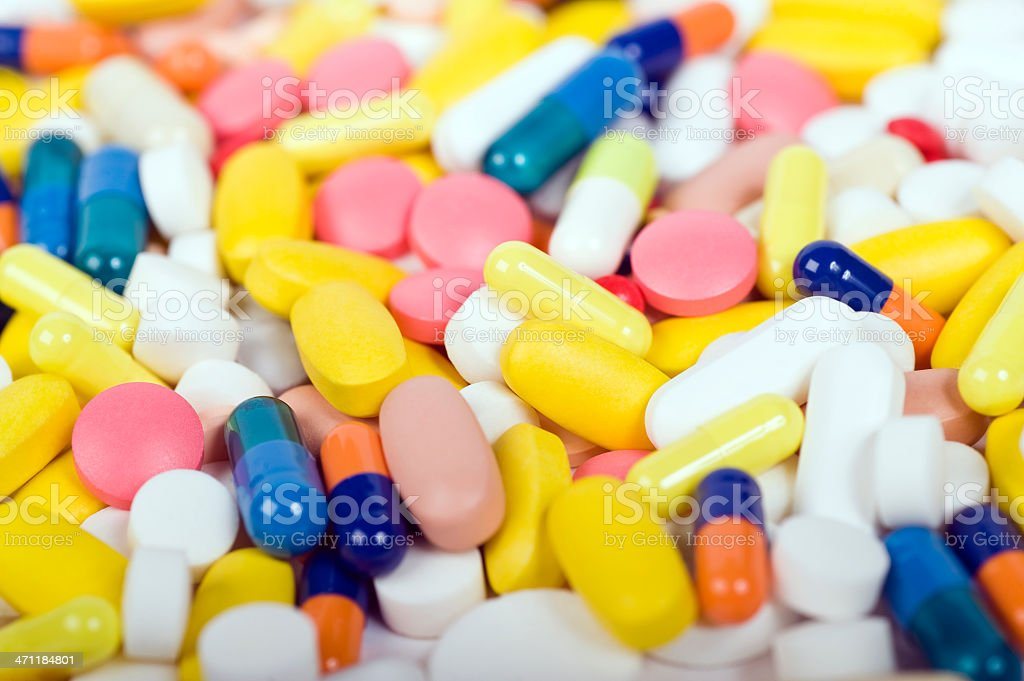 Pills and medicine royalty-free stock photo
