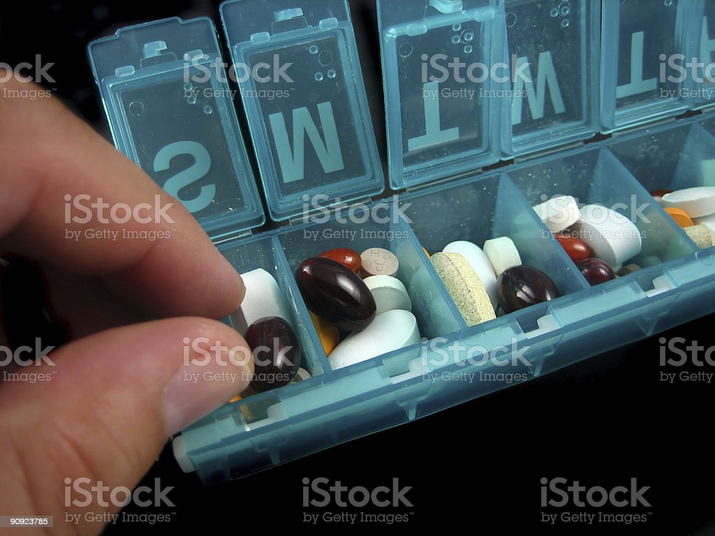 Pills and medicines royalty-free stock photo