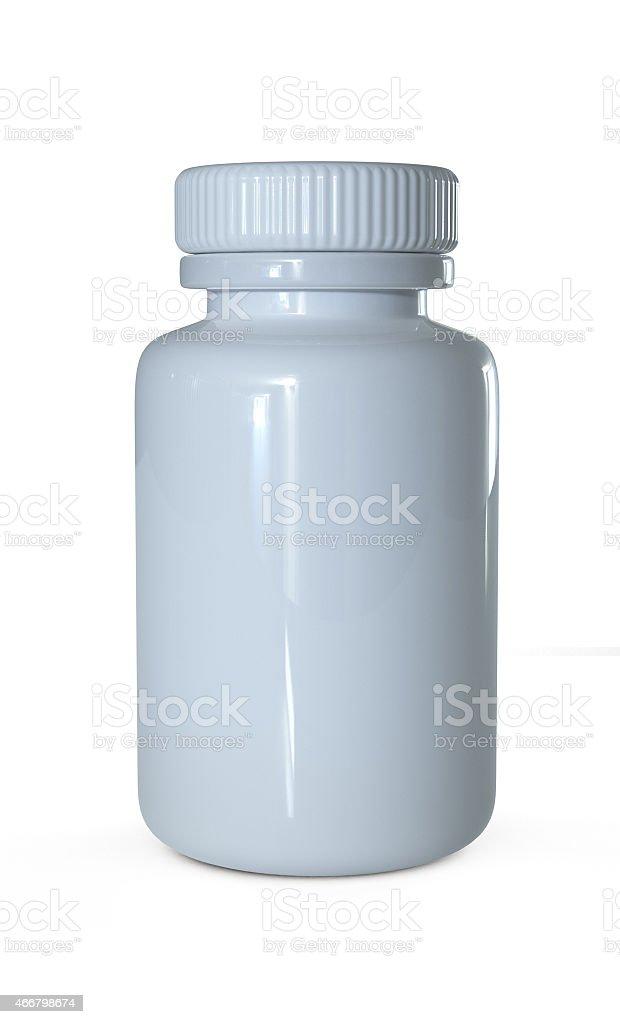 pill's bottle stock photo