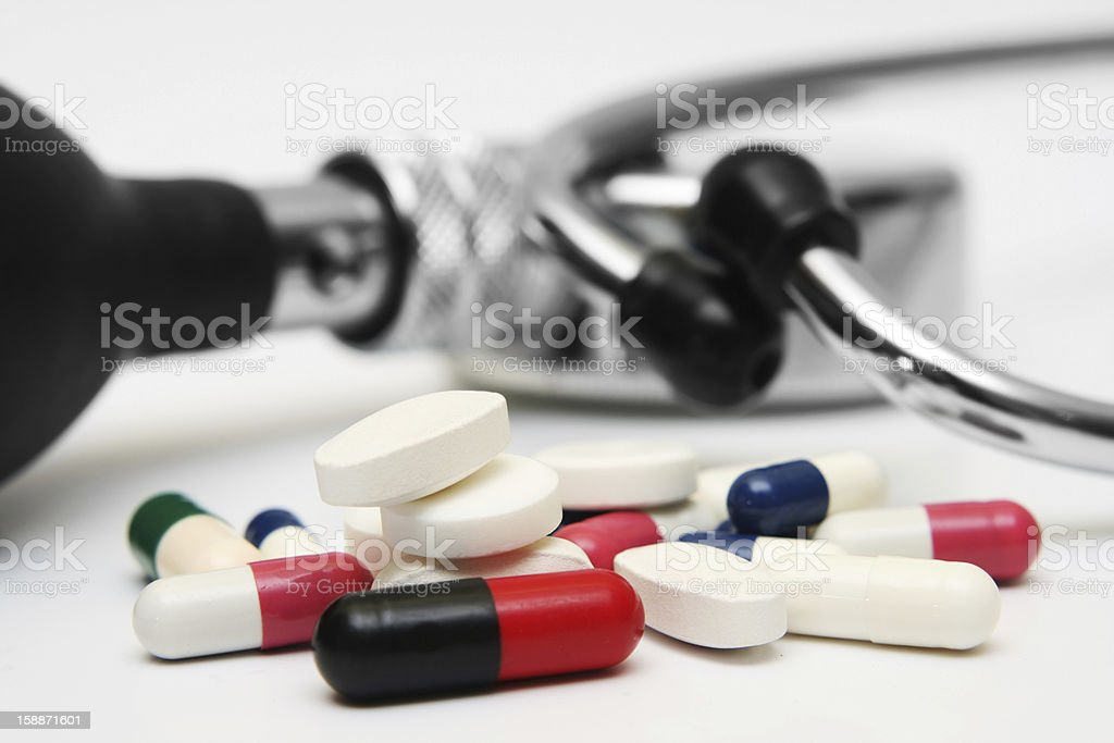Pills concept royalty-free stock photo