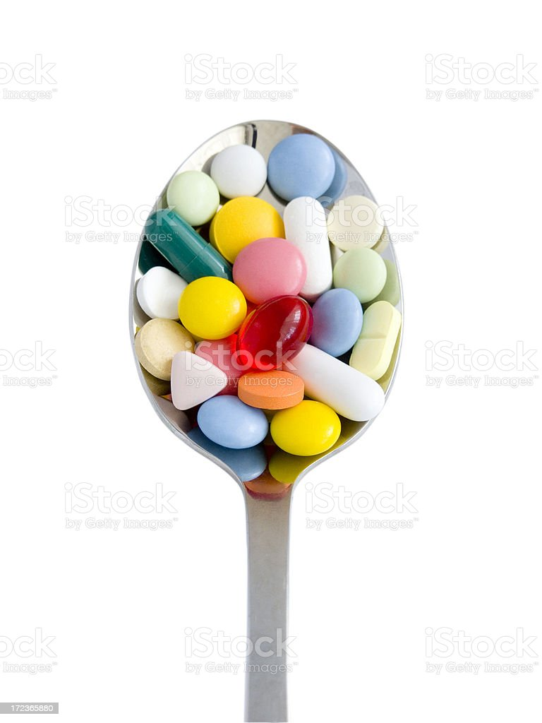 Pills for you stock photo