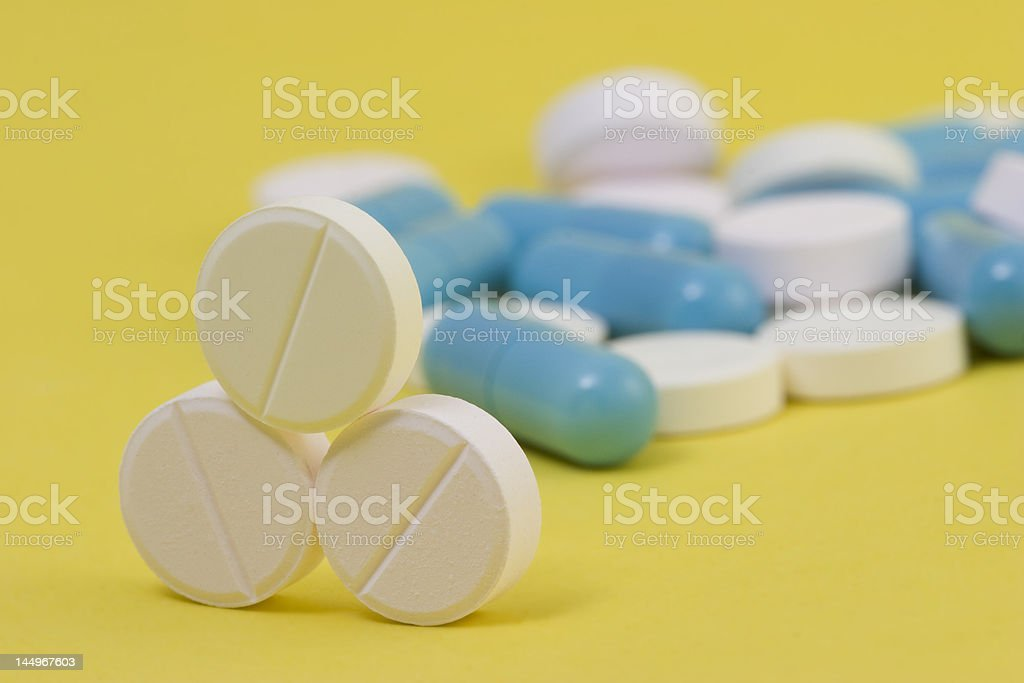 pills in royalty-free stock photo