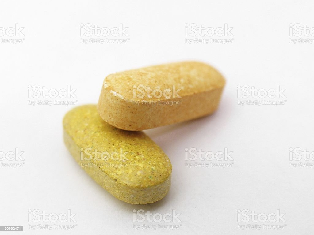 Pills - Isolated 4 royalty-free stock photo