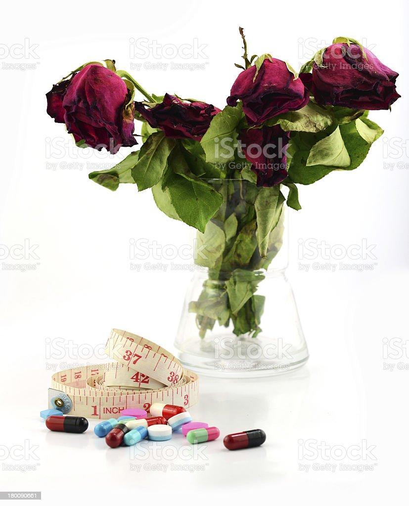 pills of beauty royalty-free stock photo
