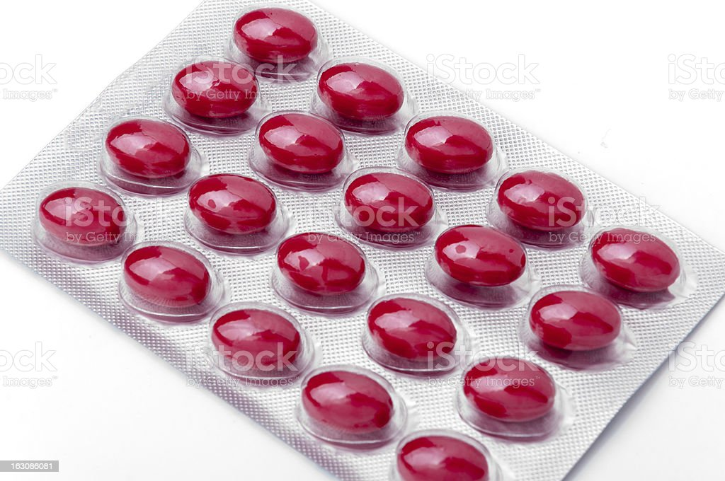 Pills of medicament royalty-free stock photo