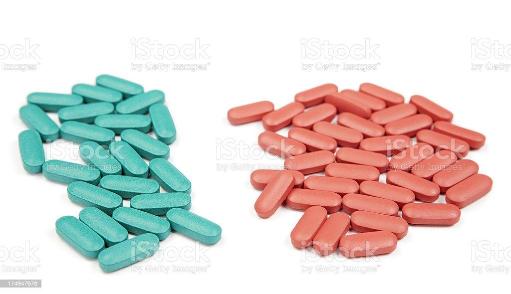 Pills or Prescription Medicine Isolated stock photo