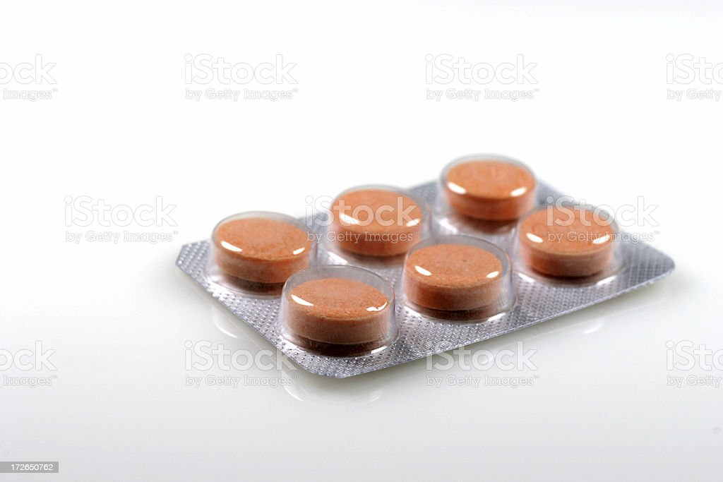Pills Pack royalty-free stock photo