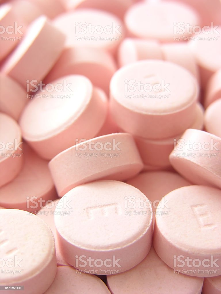 E Pills stock photo
