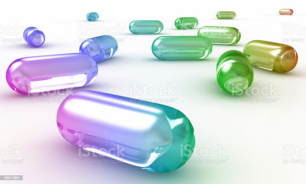 Pills royalty-free stock photo