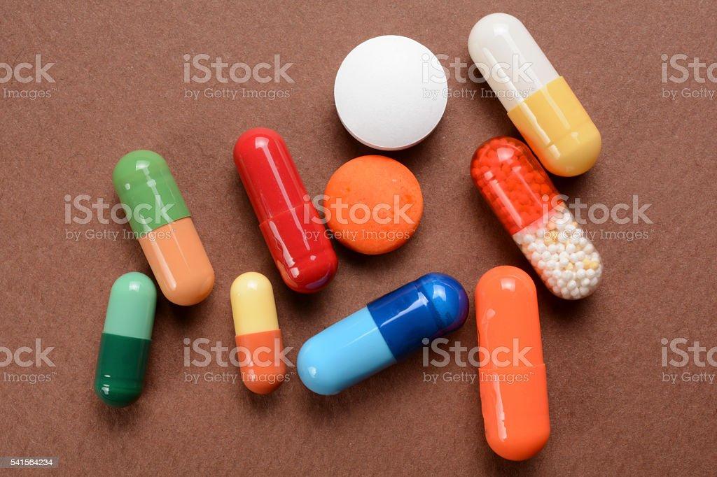 Pills-3 stock photo