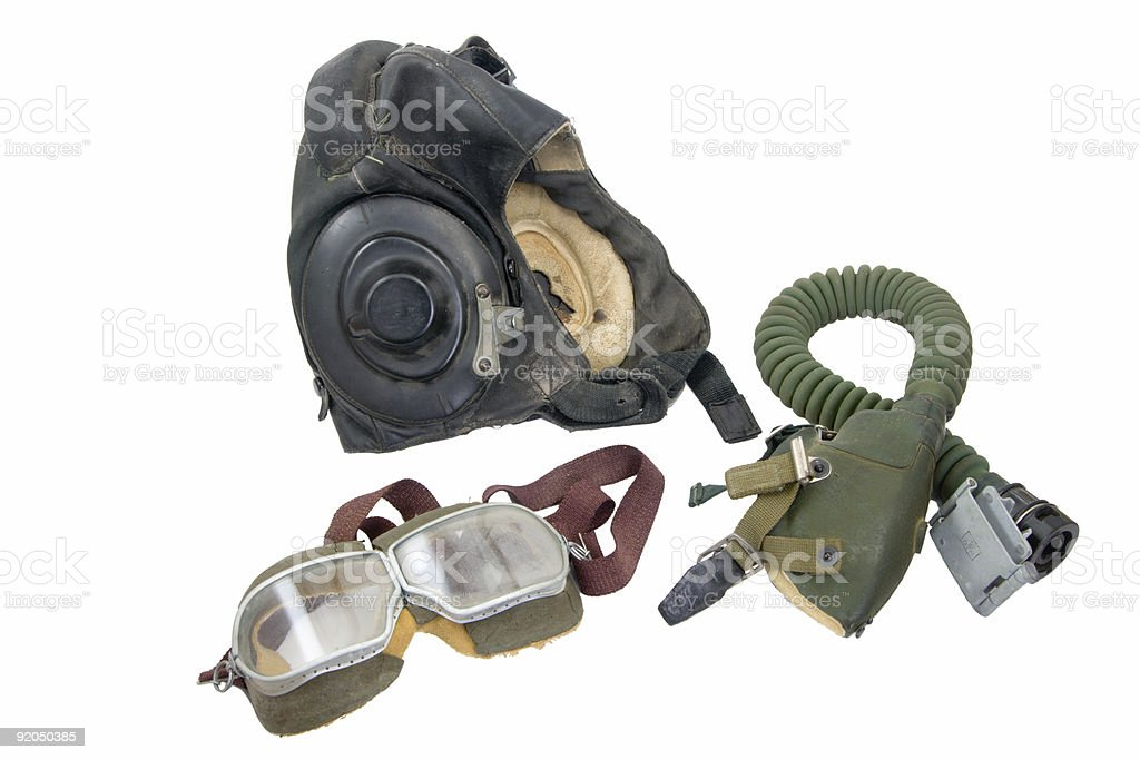 pilot equipment stock photo
