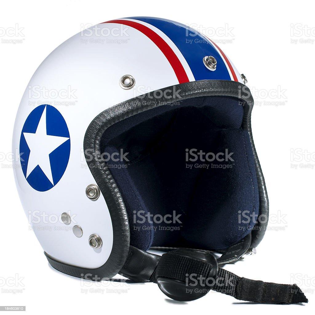 pilot helmet royalty-free stock photo