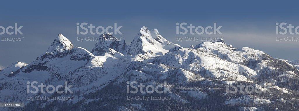 Pilot Mountains stock photo