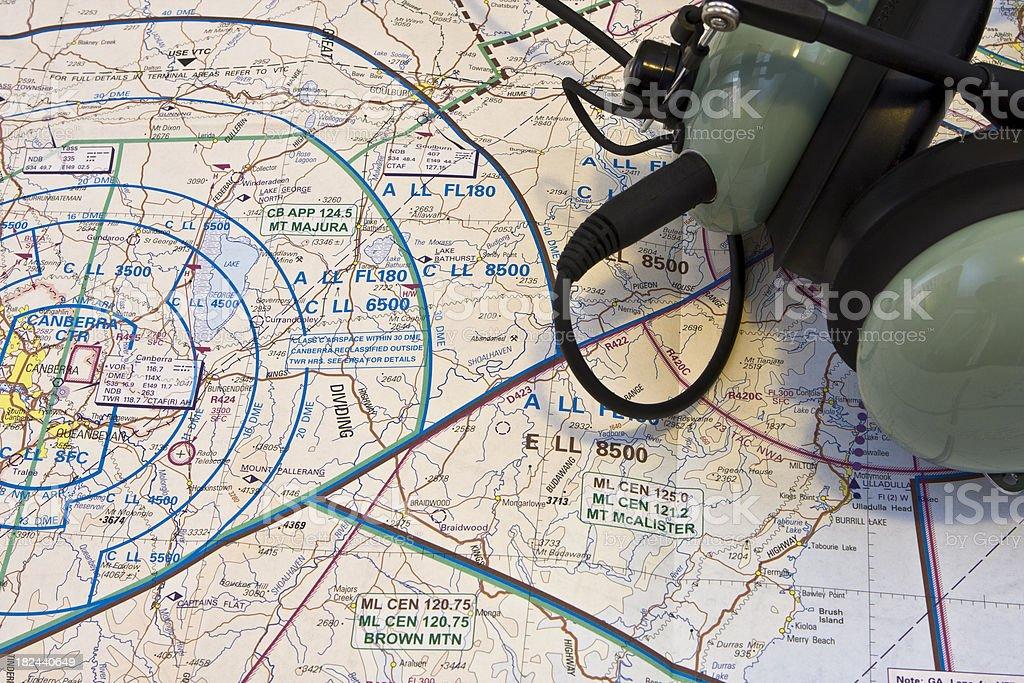 Pilot preparation stock photo