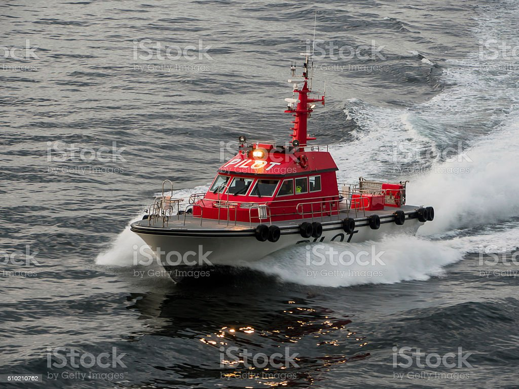 Pilot Ship stock photo