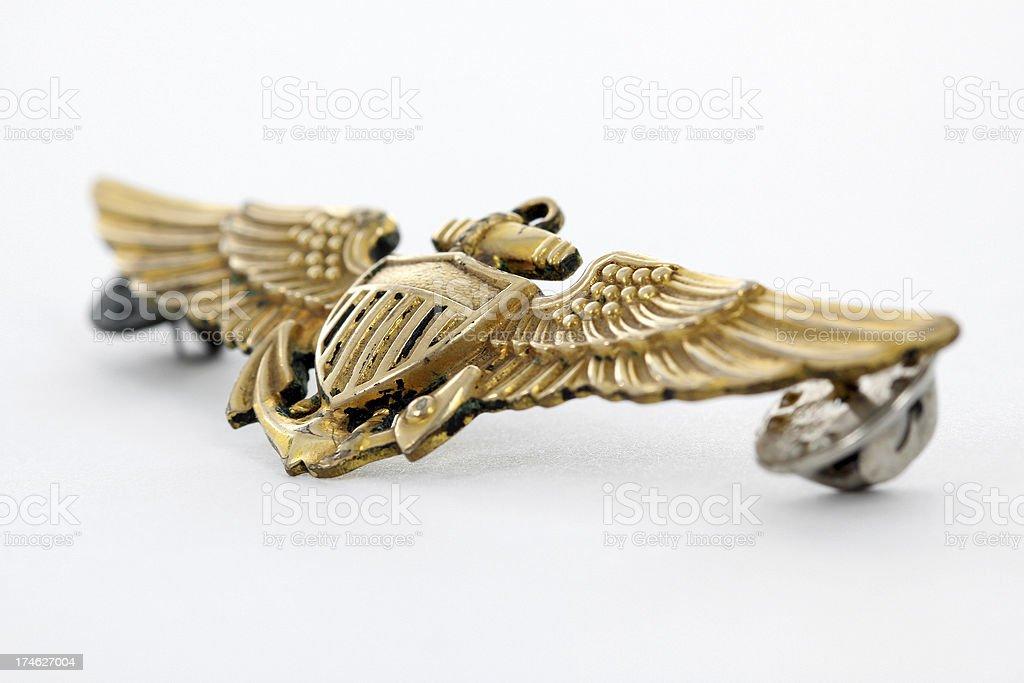 Pilots wings. royalty-free stock photo