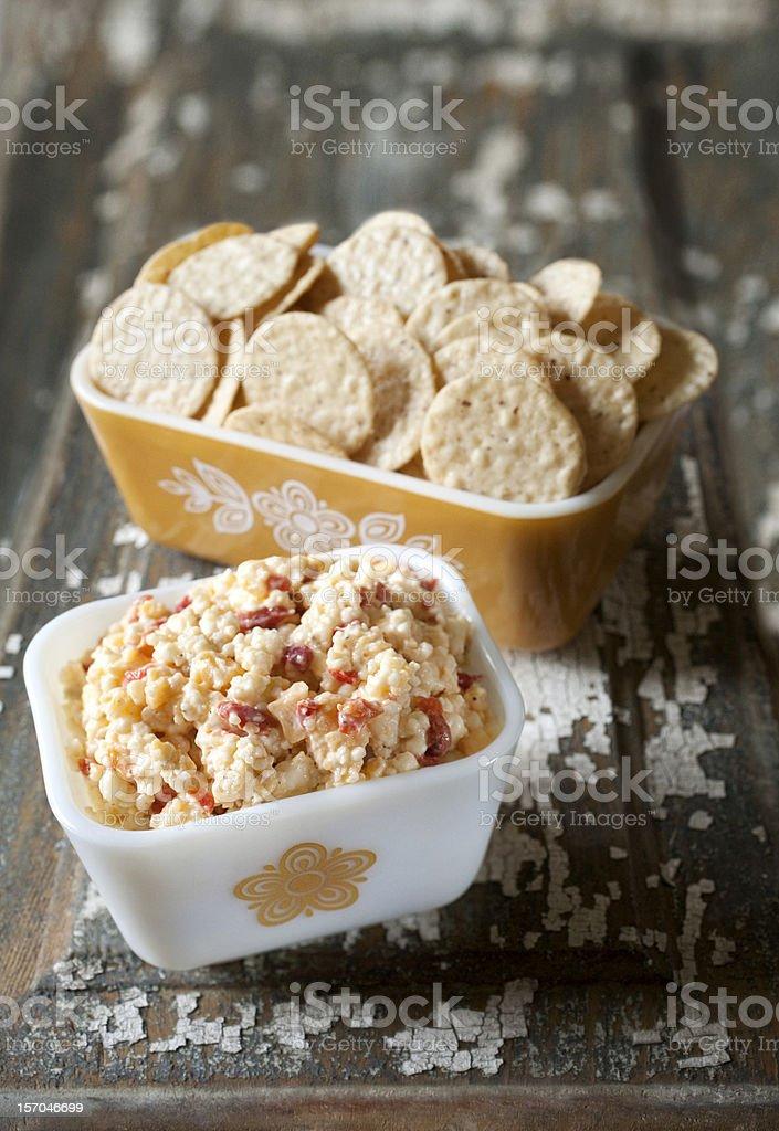 Pimento Cheese Spread stock photo