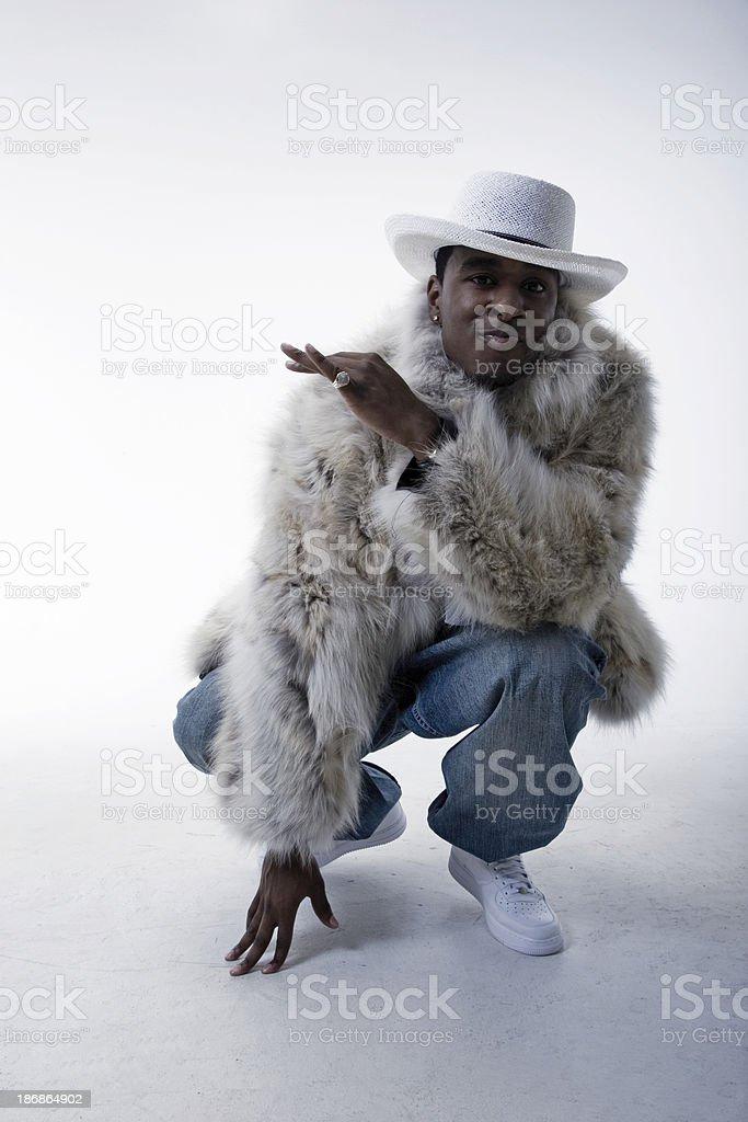 Pimp Attitude royalty-free stock photo