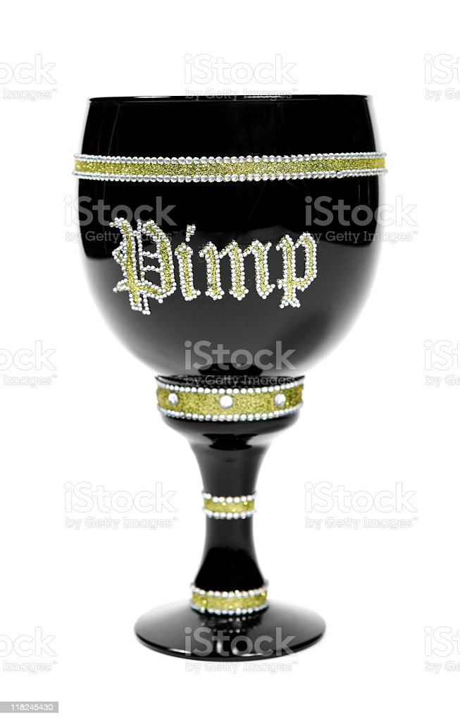 Pimp Cup royalty-free stock photo