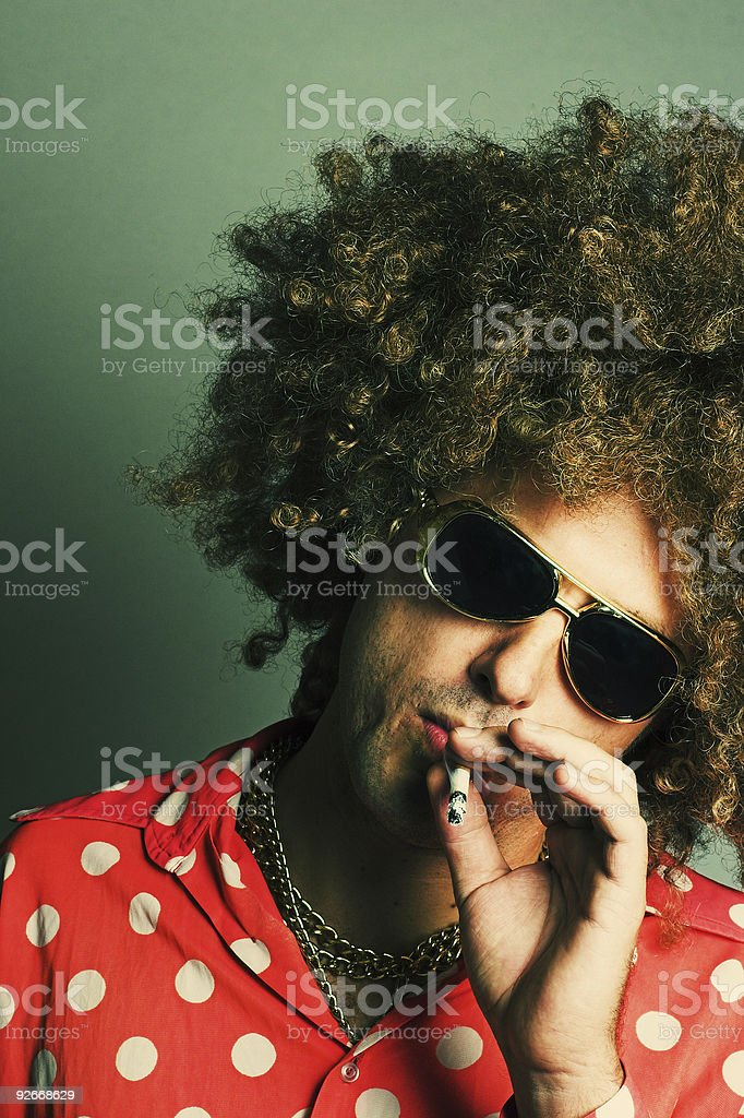 Pimp Hustler royalty-free stock photo