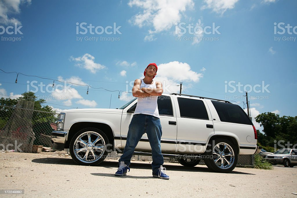 Pimp my ride stock photo