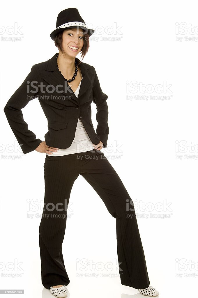Pimpin Outfit royalty-free stock photo