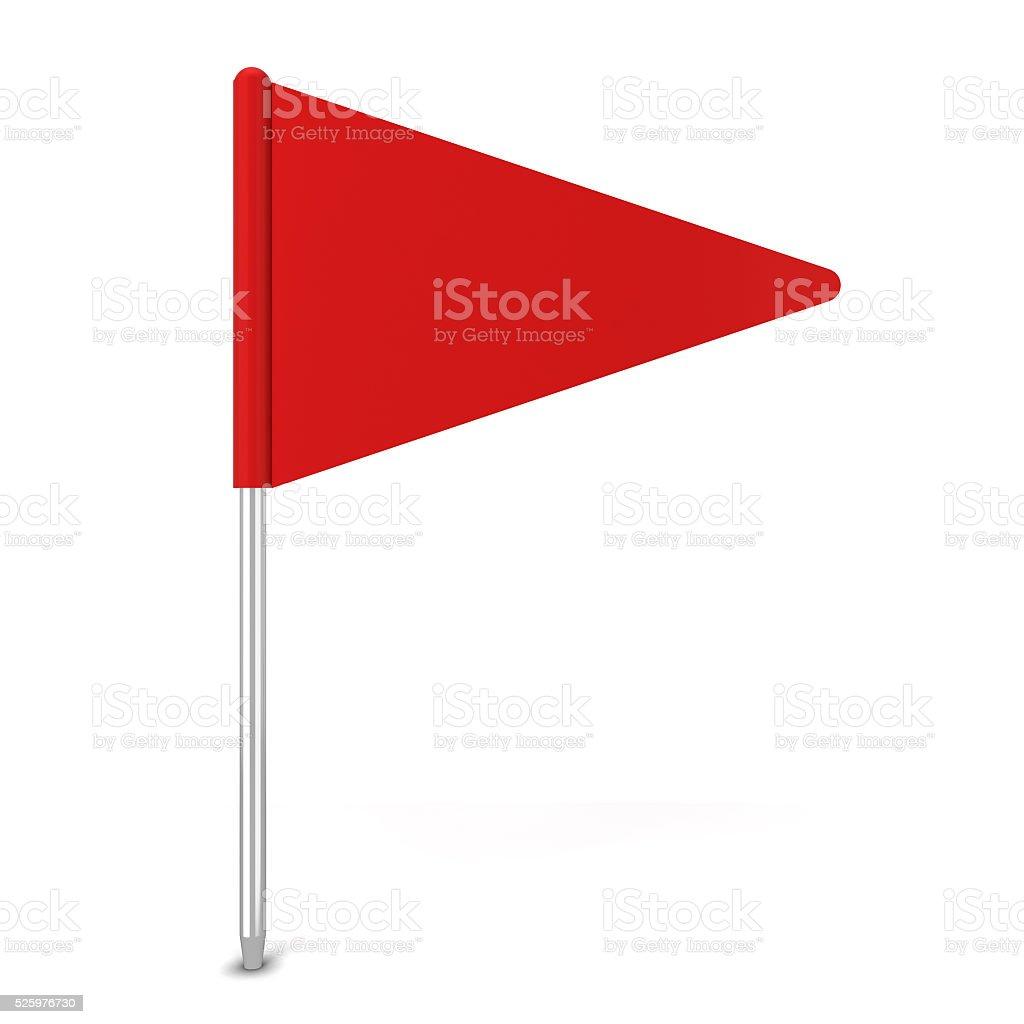 Pin flag stock photo