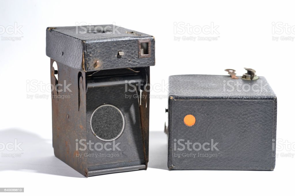pin hole camera stock photo