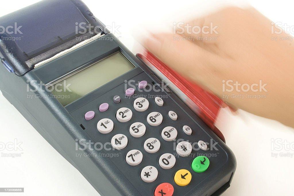 Pin pad royalty-free stock photo