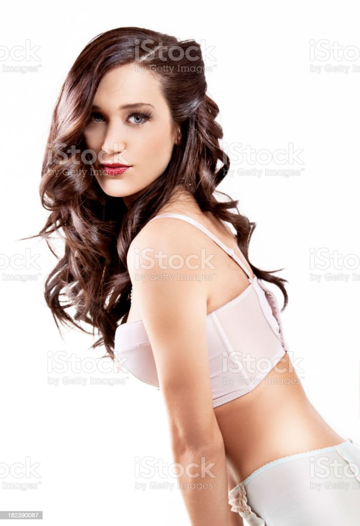 Pin Up girl royalty-free stock photo