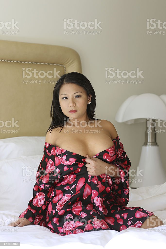 Pin up in Bedroom royalty-free stock photo