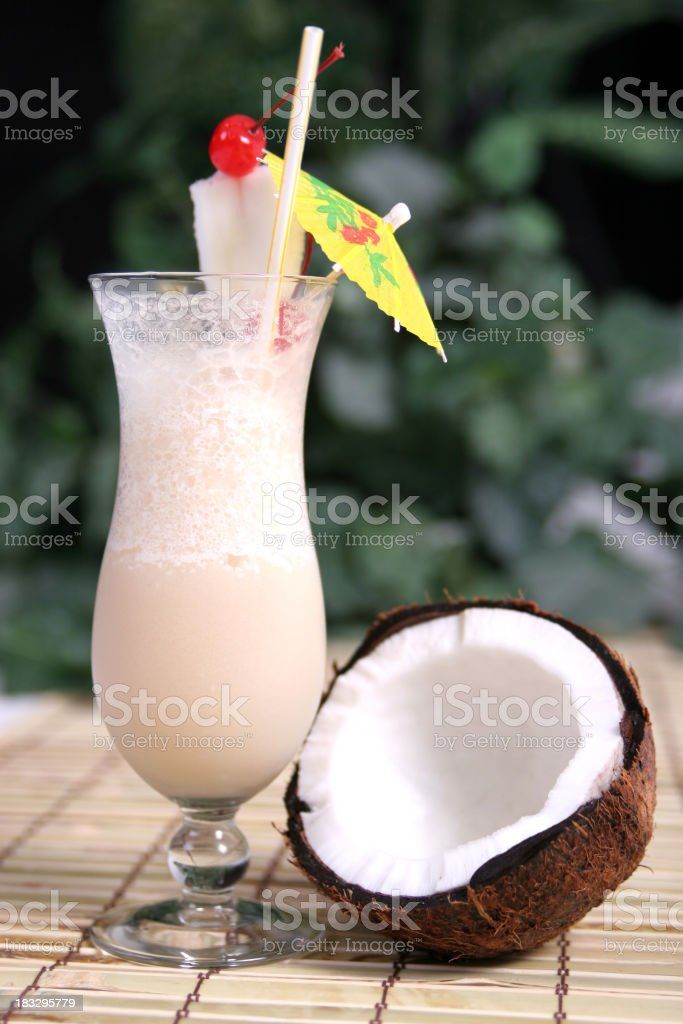 Pina Colada 1. royalty-free stock photo
