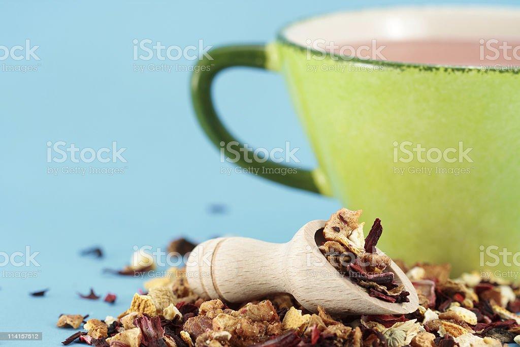 Pina Colada Tea royalty-free stock photo