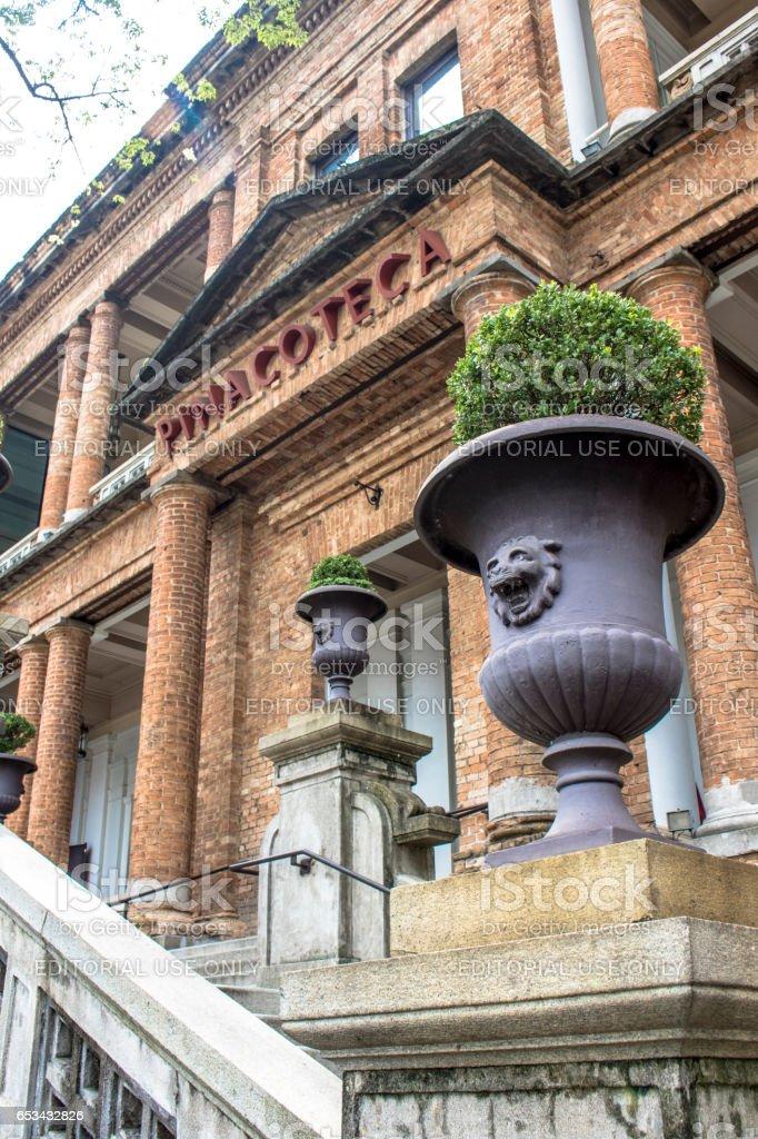Pinacoteca de São Paulo stock photo