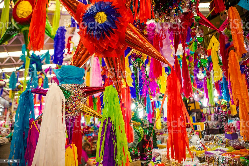 Pinatas stock photo