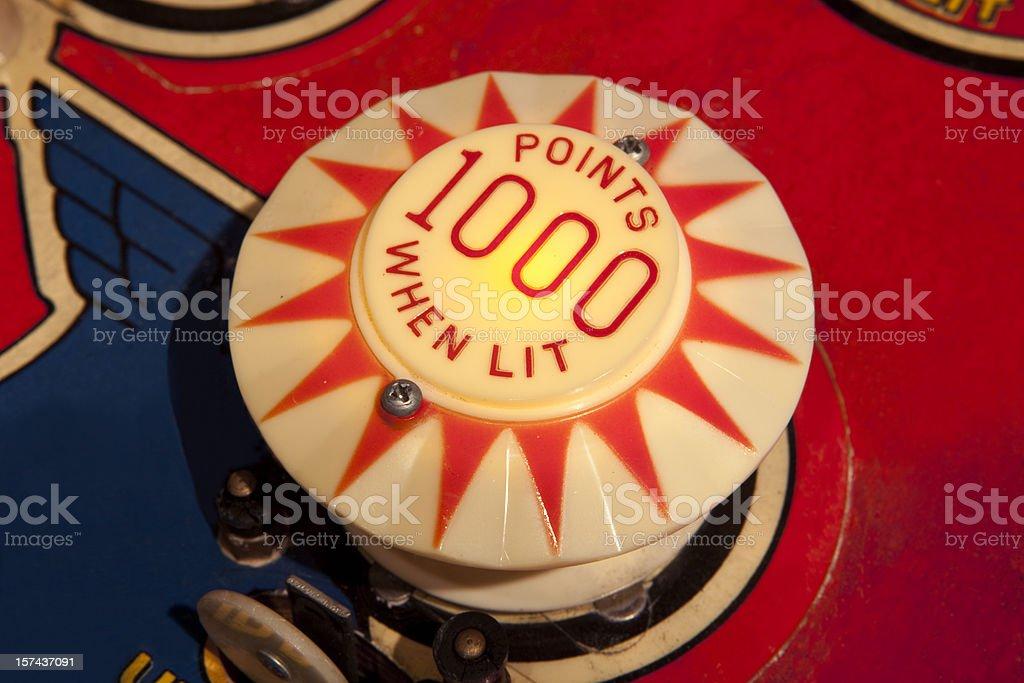Pinball Bumper Target royalty-free stock photo