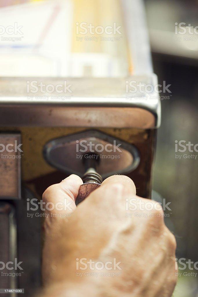 Pinball Machine royalty-free stock photo