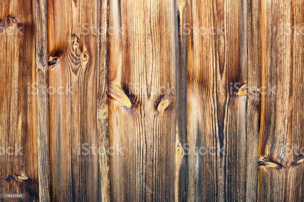 Pine boards stock photo