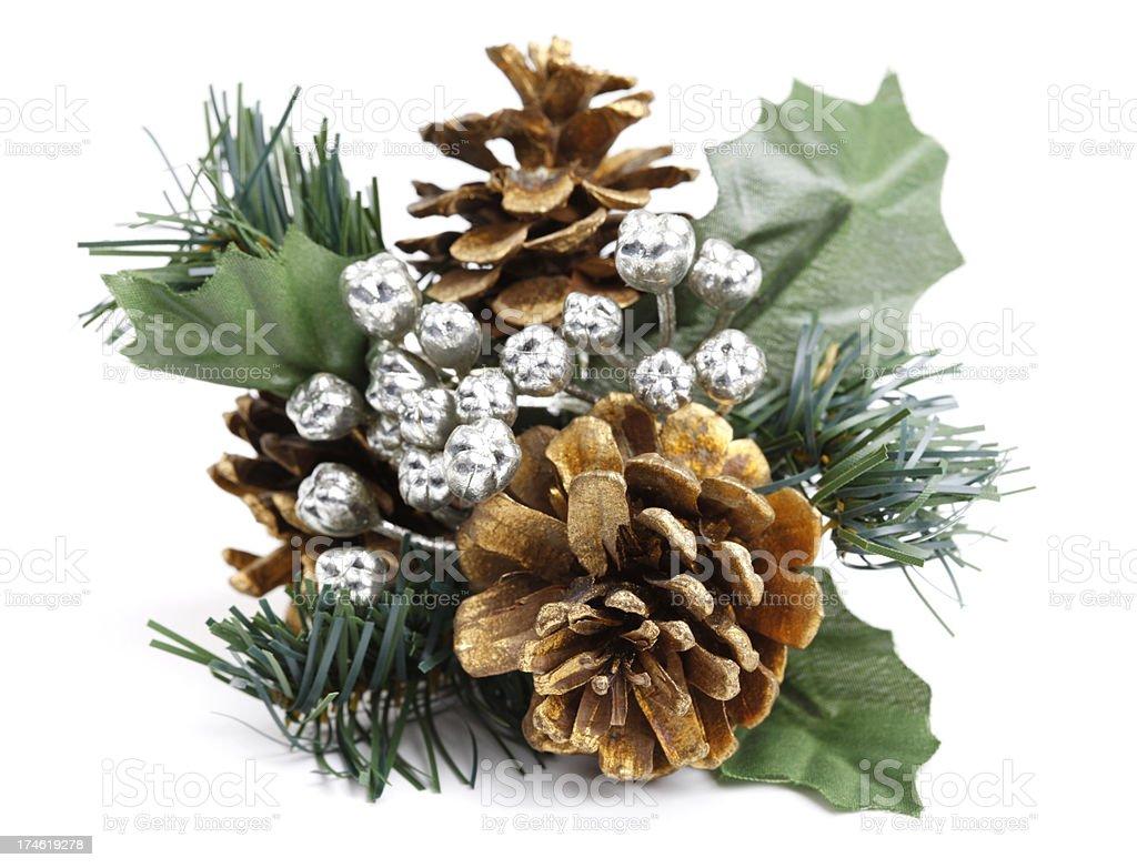 Pine Cone Decoration royalty-free stock photo