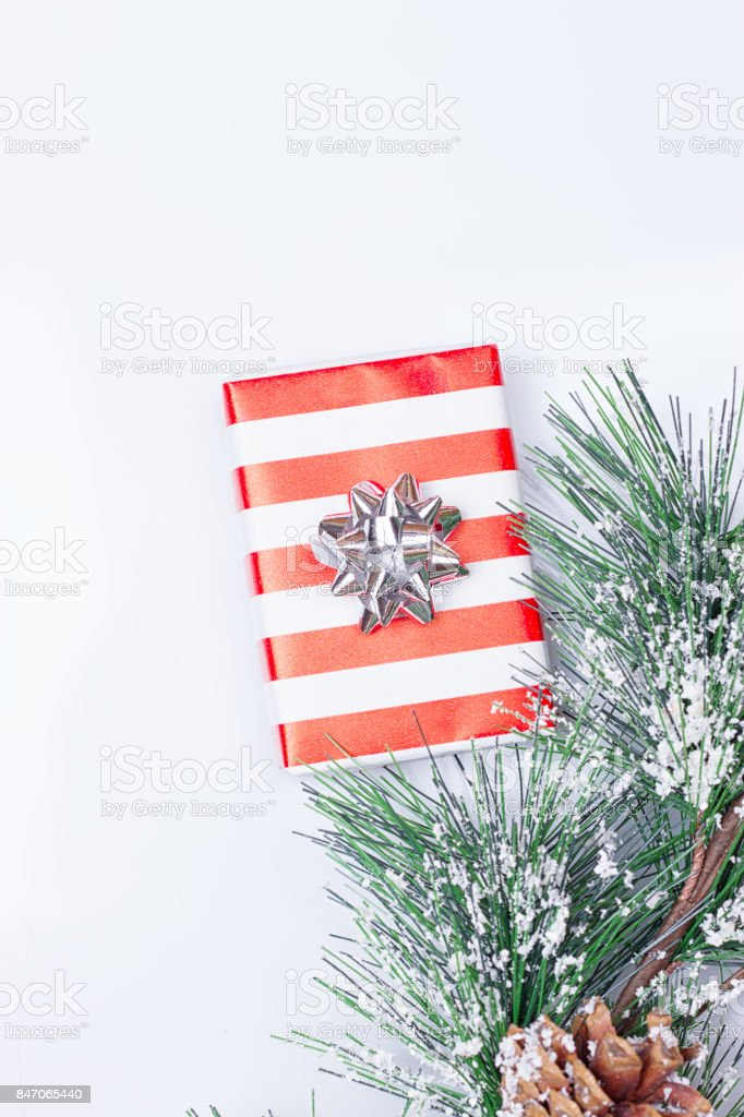 Pine Cones and Gifts stock photo