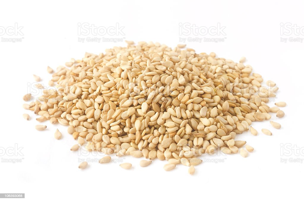 Sesame stock photo