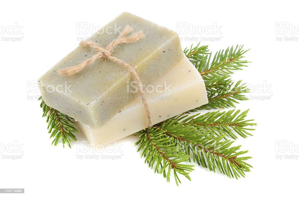 Pine soap royalty-free stock photo