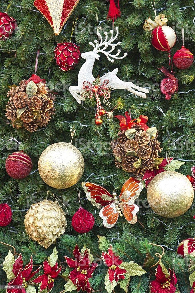 Pine tree decoration royalty-free stock photo