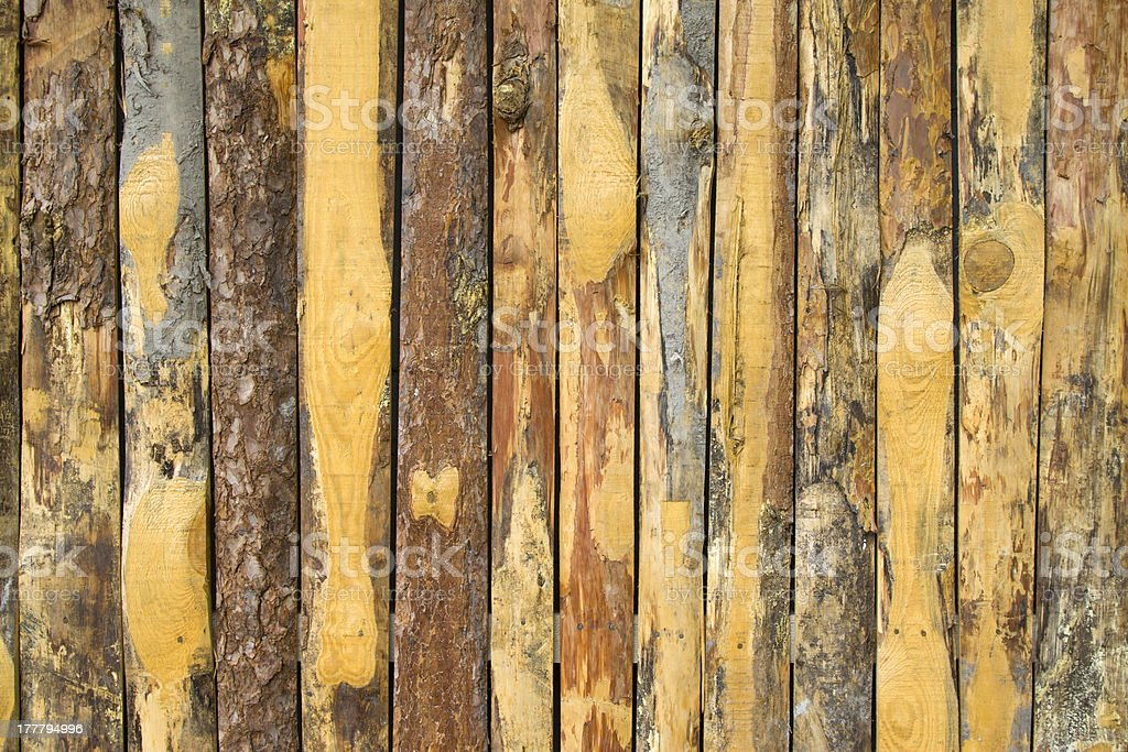 pine wooden pieced together royalty-free stock photo