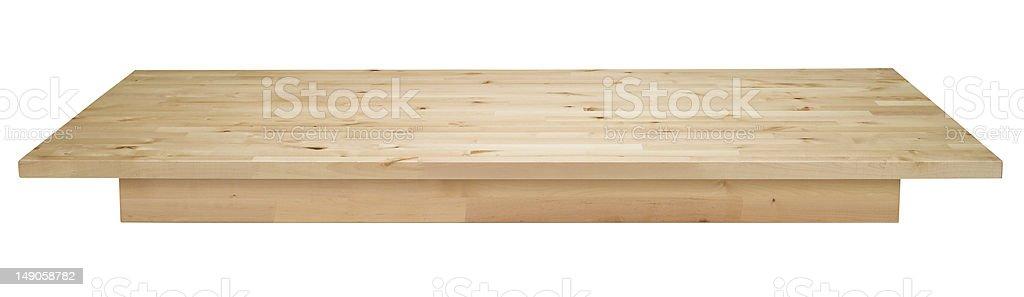 Pine Worktop royalty-free stock photo