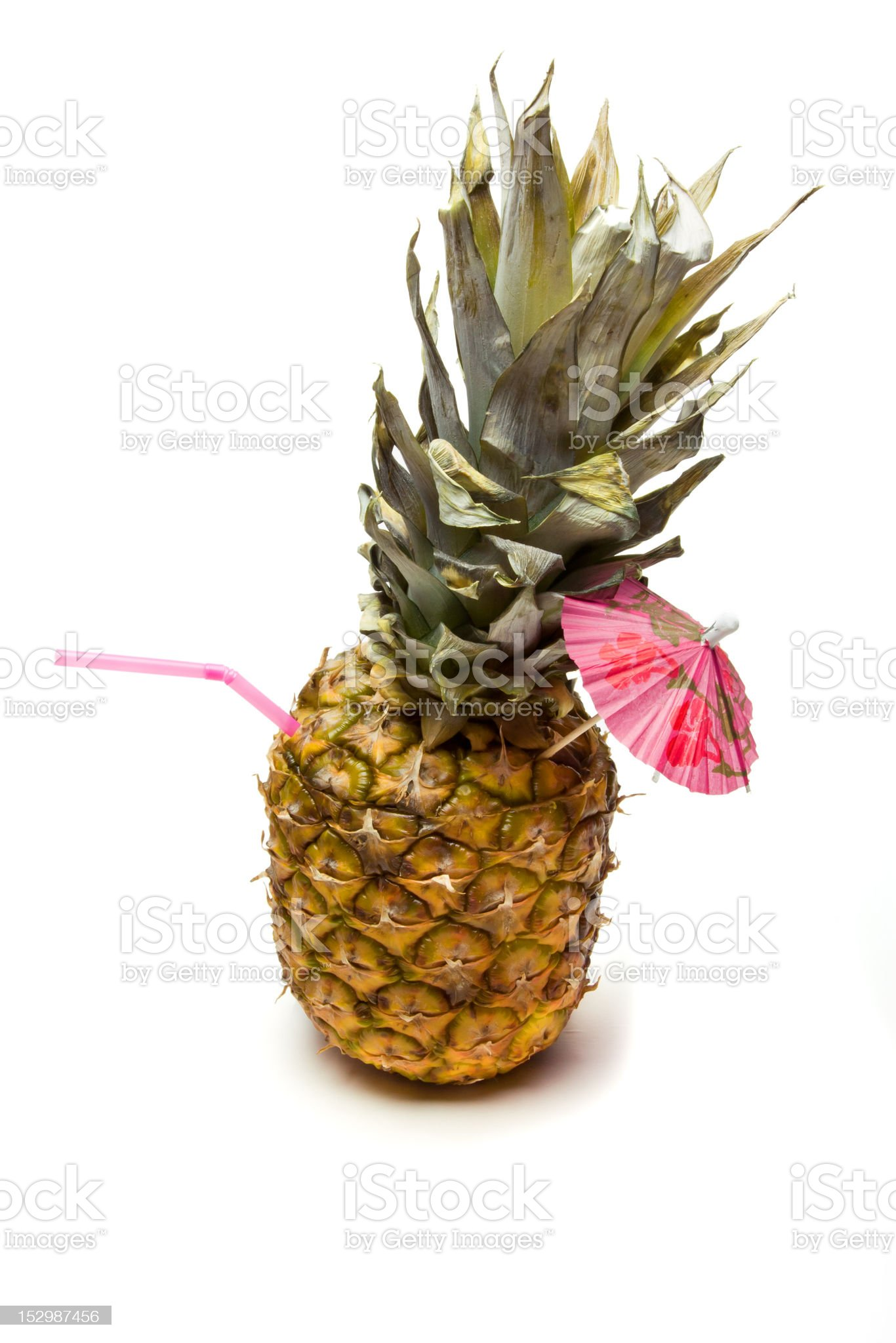 Pineapple Cocktail royalty-free stock photo